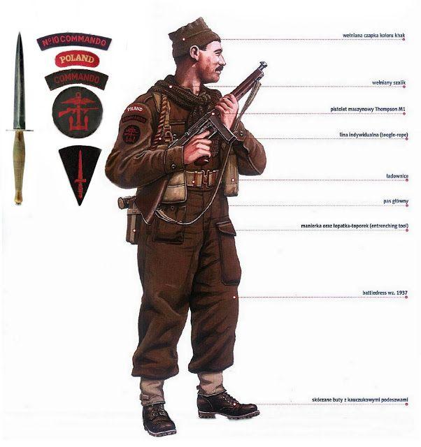 General Leopold Okulicki 1898 1946 Commando Polscy Komandosi Guerre Mondiale Guerre Contemporaine 2eme Guerre Mondiale