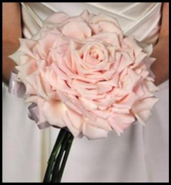 Pink-Bouquet-Single-Flower   Wedding Ideas   Pinterest   Rose ...