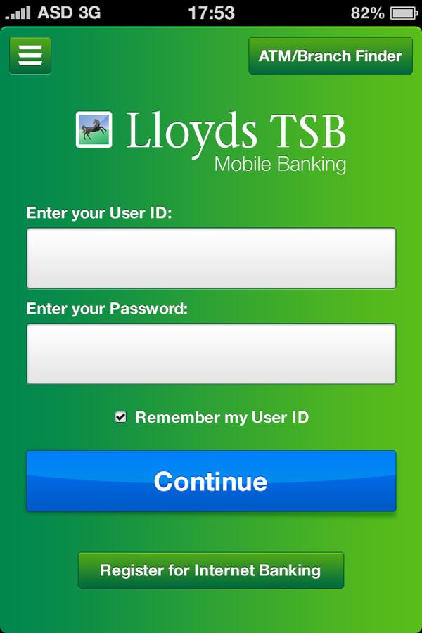 Lloyds Tsb Ios Application By Alex Strasman Via Behance Ios