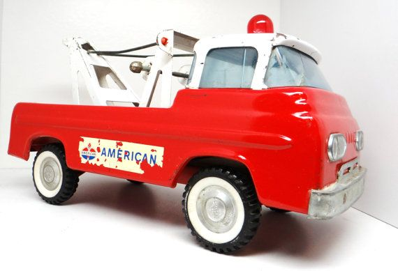 Vintage Nylint Ford Tow Truck 1960s American By Thewildburro