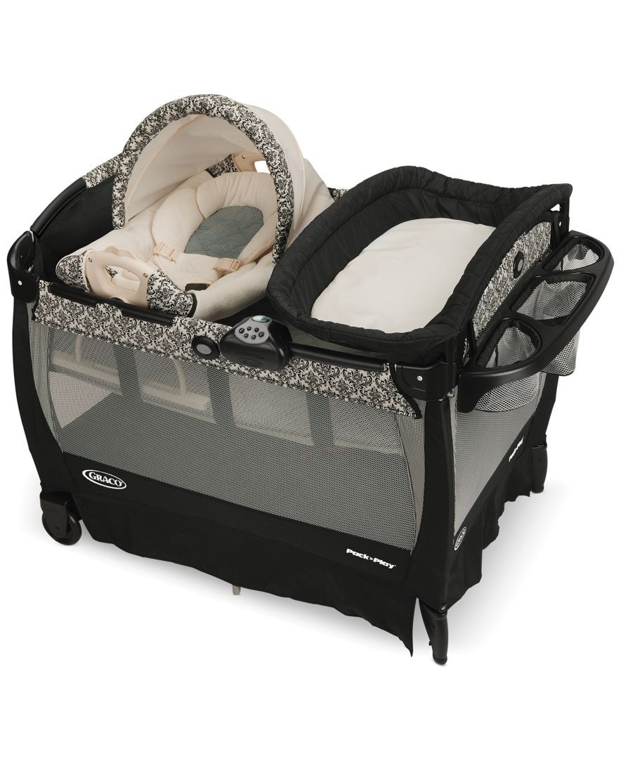 Playpen With Bassinet Babies R Us : playpen, bassinet, babies, Graco, Play®, Playard, Cuddle, Cove™, Rocking, Reviews, Essentials, Macy's, Play,