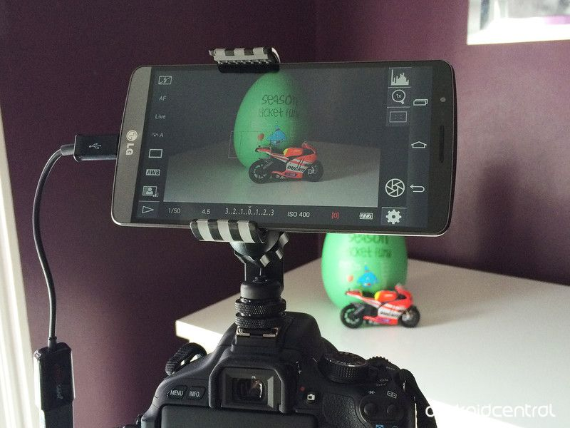Android DSLR Monitor App  If you own a Canon or a Nikon DSLR