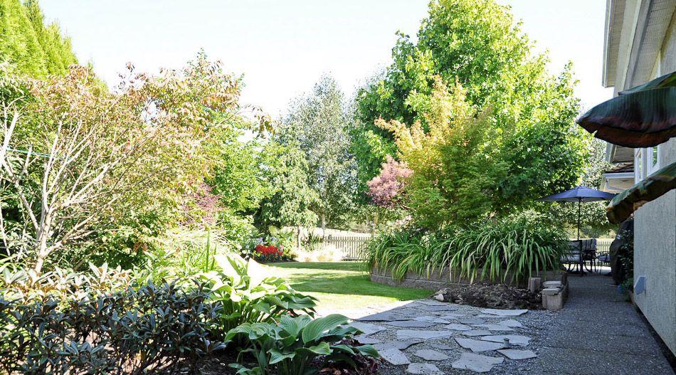 Lush Gardens Along Crown Isle Fairway Lush garden