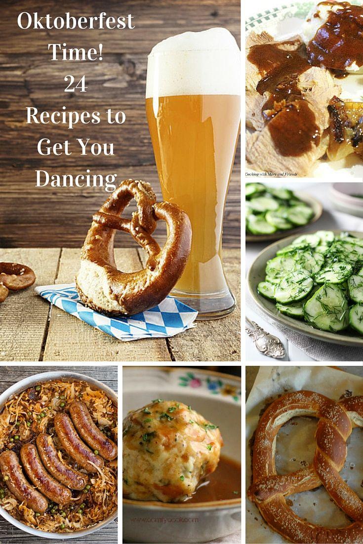 oktoberfest time 24 recipes to get you dancing pinterest deutsches essen ein prosit der. Black Bedroom Furniture Sets. Home Design Ideas