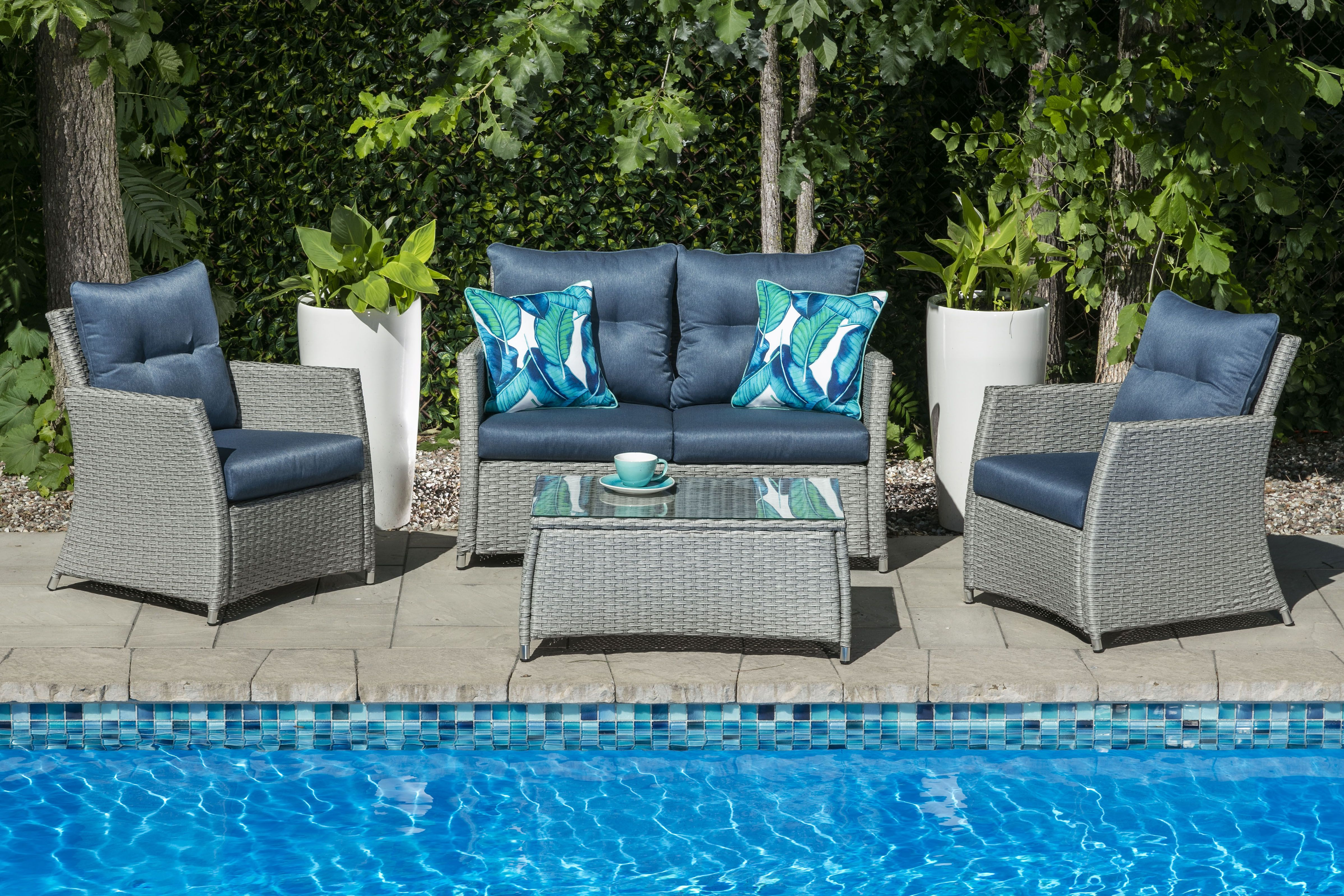 Salon Exterieur Niagara Ii Outdoor Deep Seating Deep Seating Furniture Sets Outdoor Furniture