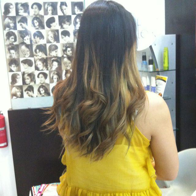 My hair. Ombré