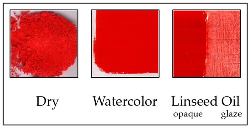 Cadmium Red Light Red Media Linseed Oil Color