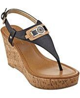 cf17c7b16450 Tommy Hilfiger Women s Monor Platform Wedge Thong Sandals