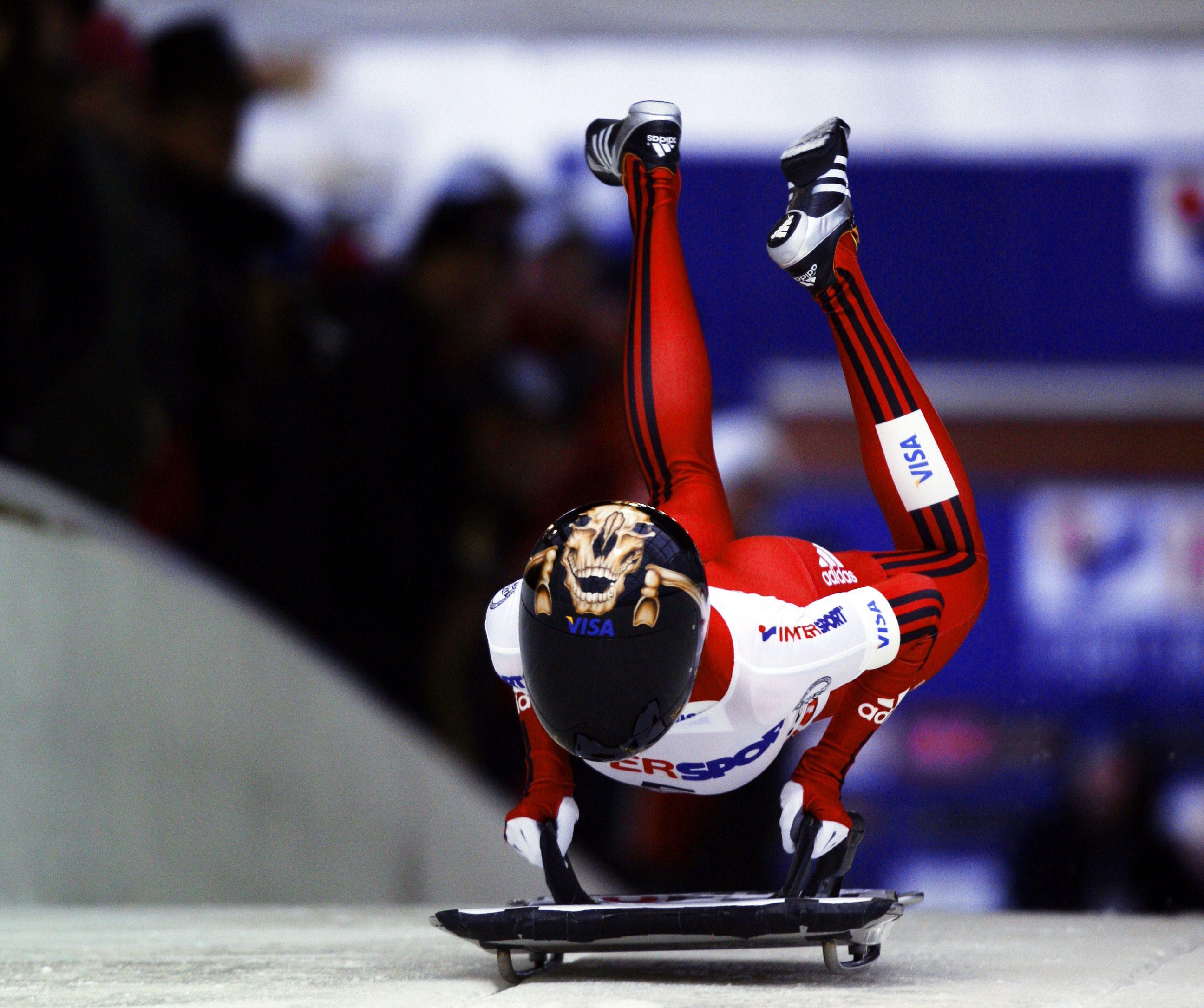 Jo Skeleton Promesses De Medailles En Skeleton Sport Olympique Sport D Hiver Sport