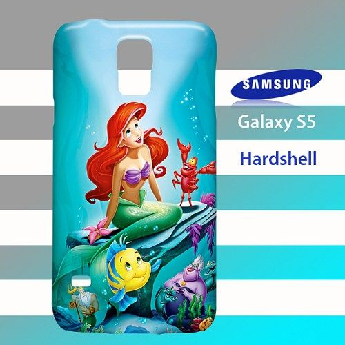 the little mermaid custom 2 samsung galaxy s5 case cover hardshell