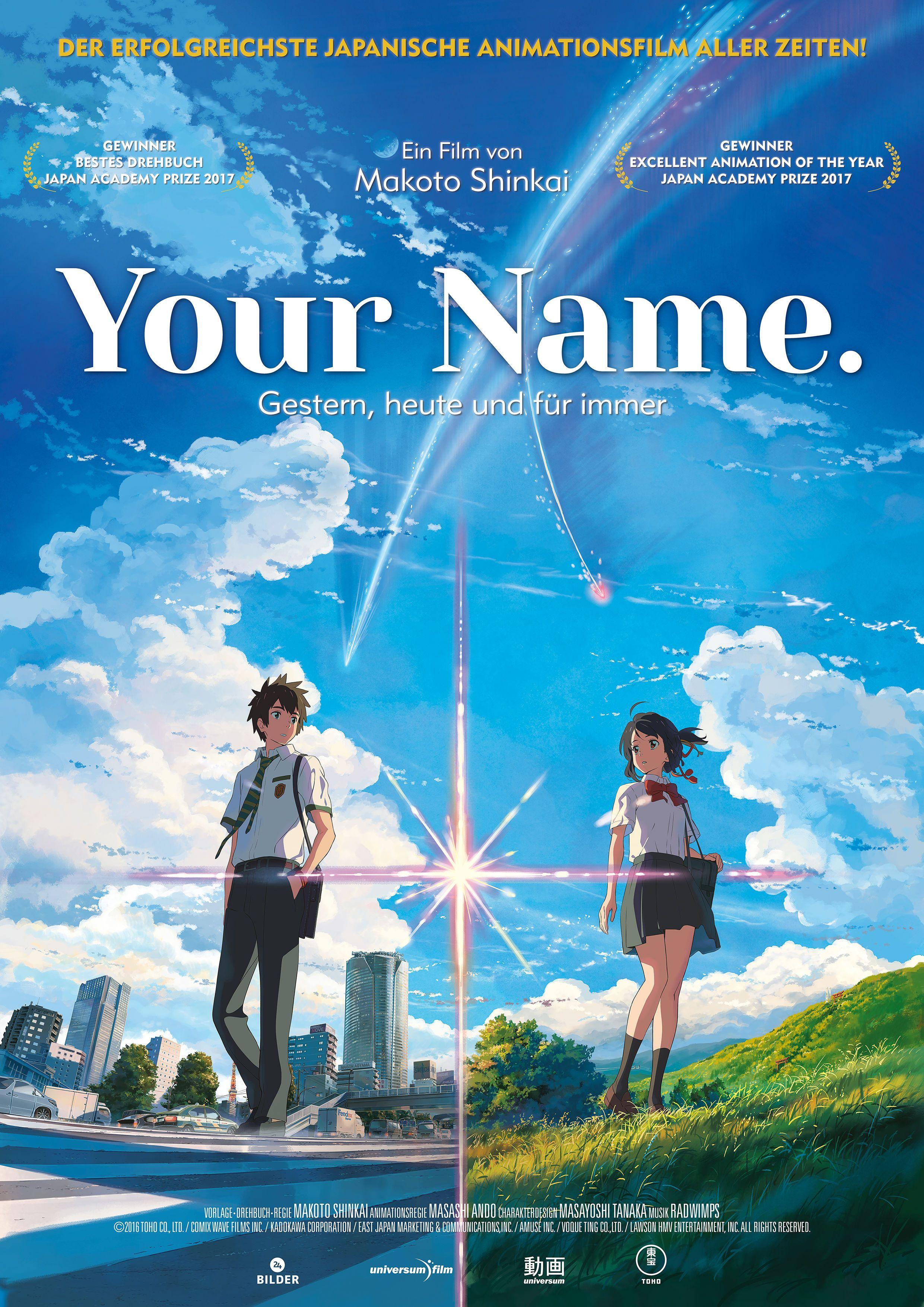 Your Name Kinostart 11 Januar 2018 Kinofilme 2018 Movies