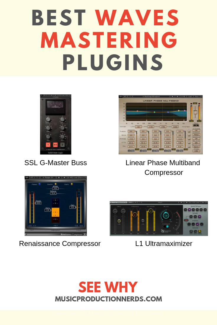 The best Waves plugins for mastering add tremendous flexibility to