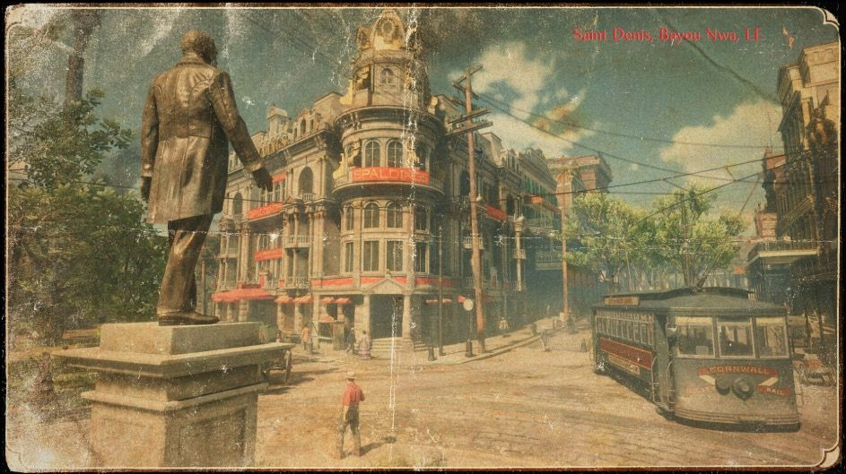 Red Dead Redemption 2 Here Are The Cities And Towns Players Will Visit Red Dead Redemption Saint Denis Red Dead Redemption Ii