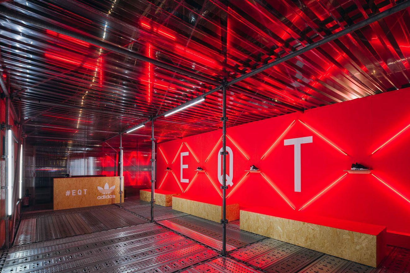 ADIDAS ORIGINALS EQT LAUNCH Adidas, Product launch