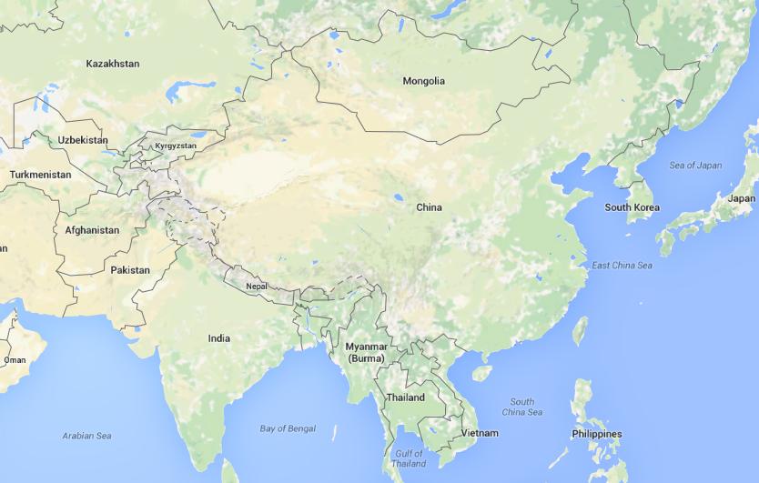 China on world map thefactfile pinterest interesting facts china on world map gumiabroncs Gallery