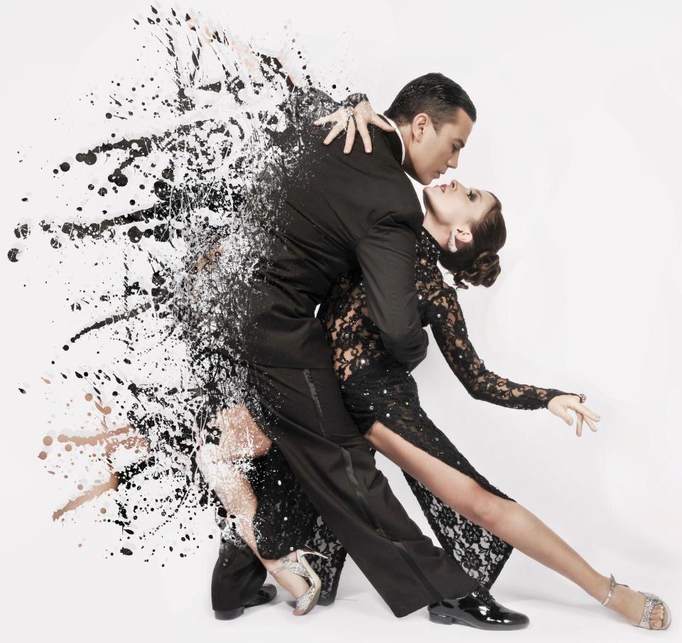 Открытка танцующий мужчина