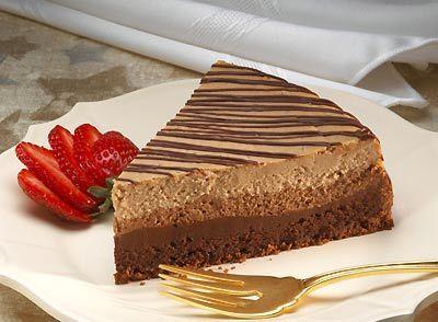 تشيز كيك بالكيك Layered Cheesecake Recipe Layer Cheesecake Cheesecake