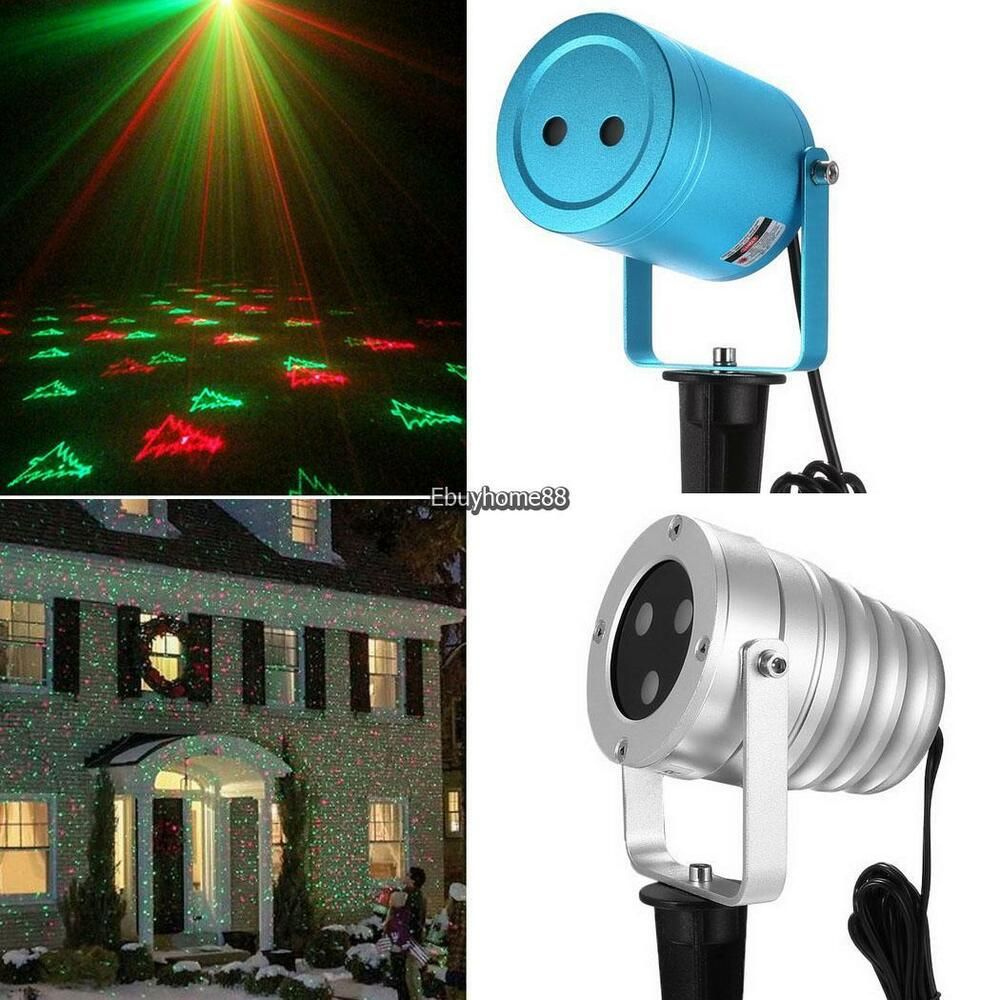 Advertisement Ebay Laser Christmas Projector Light Outdoor Waterproof Rotating Projection Ehe8 0 Outdoor Christmas Lights Outdoor Lighting Christmas Projector