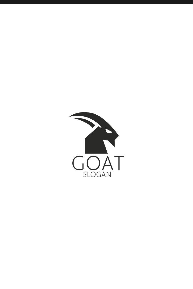 Goat Logo Template 75458 Goat logo, Logo templates, Logos