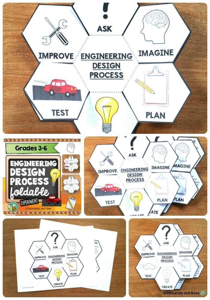Engineering Design Process Stem Interactive Science Notebook Foldable Engineering Design Process Interactive Science Notebook Interactive Science