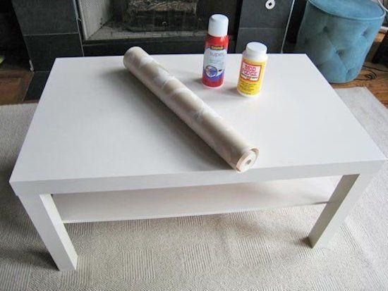 comment facilement transformer une table ikea en meuble chic deco int rieure ikea table. Black Bedroom Furniture Sets. Home Design Ideas