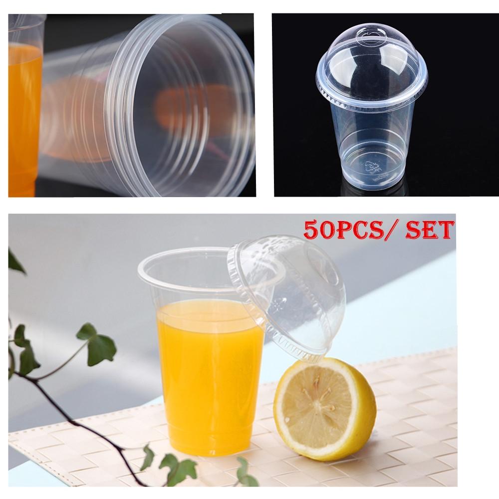 15.39 Watch now Wholesale 50 pcs set Clear Disposable