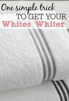 Do you have those clothes that after a couple of years the whites look gray instead of white? I have had that problem for years and never knew what to do about it until a few months ago. I was talking about how my microfiber clothes were a dingy gray colo