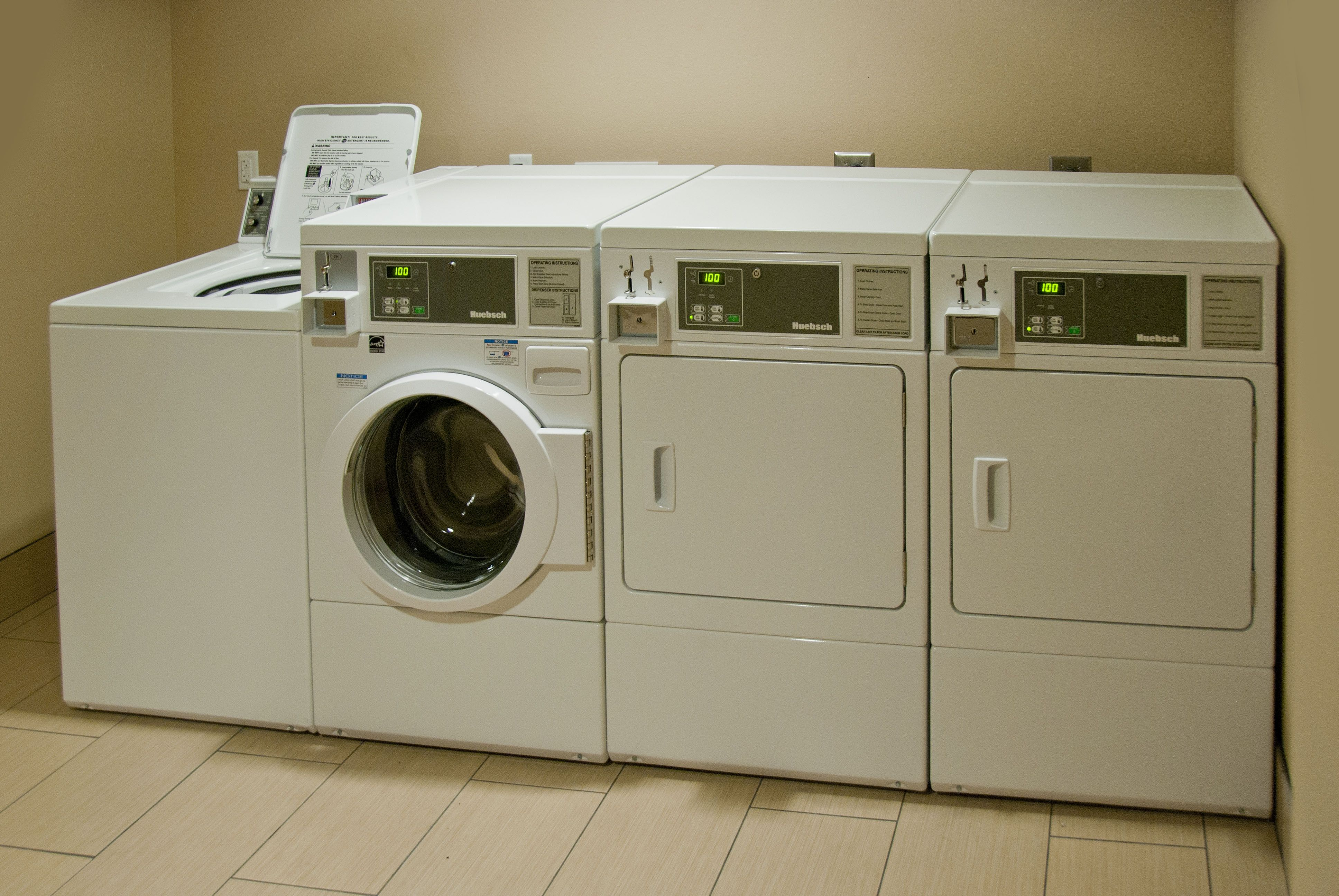Our Guest Laundry Is A Convenient Home Away From Home Feature To