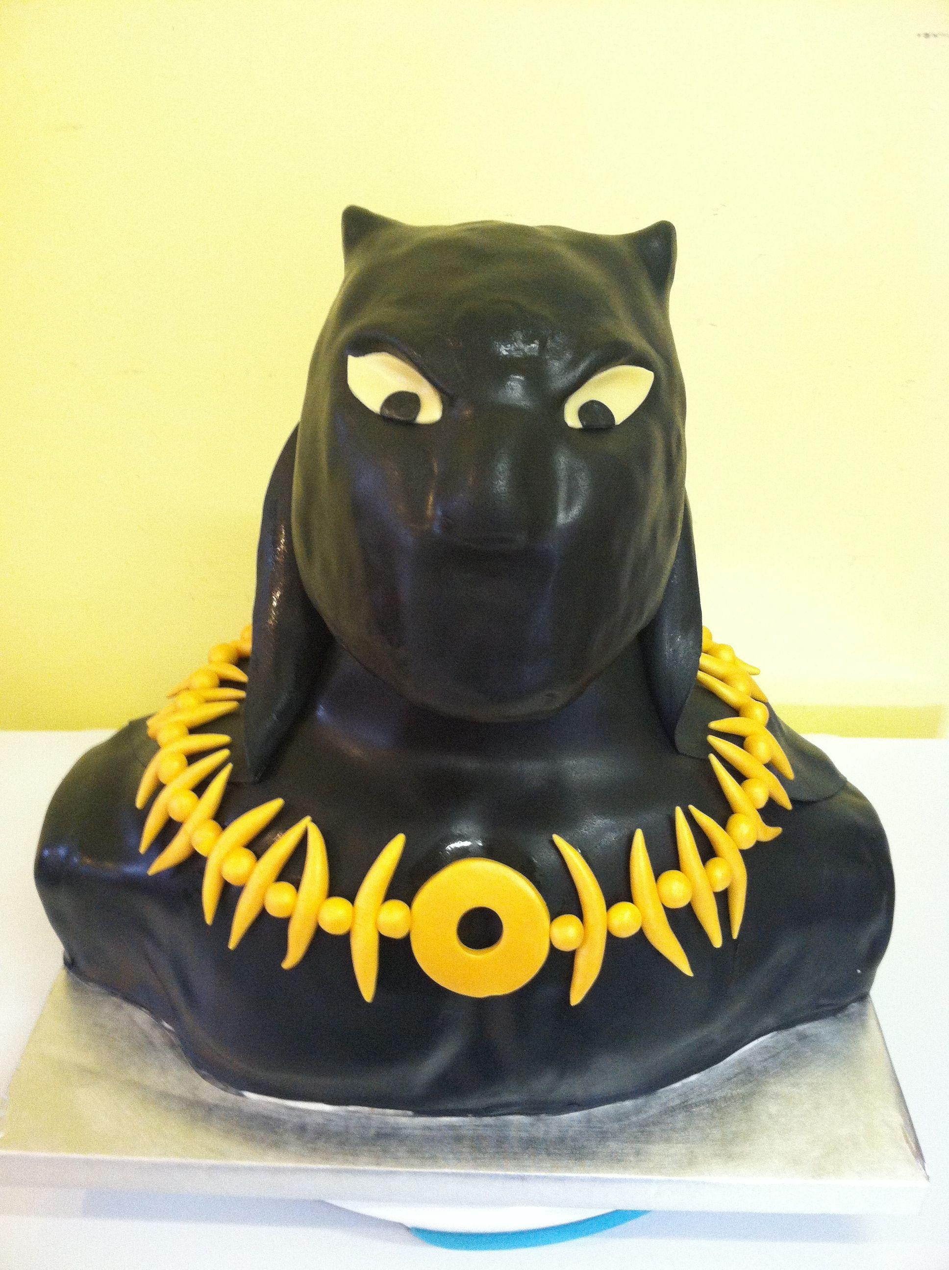 Black Panther Cupcake Rings