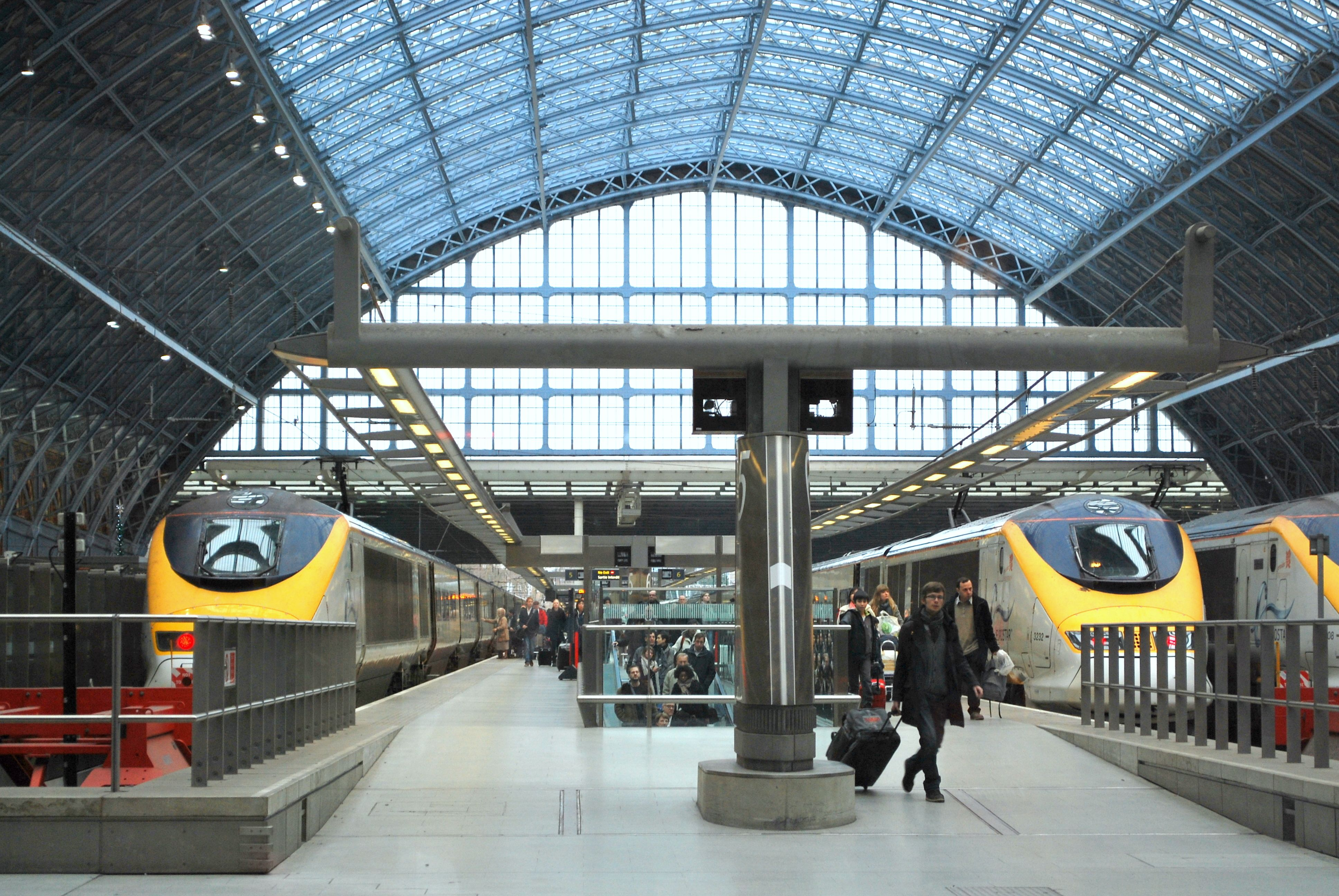 Eurostar Trains Ie The Chunnel At St Pancras Station - Chunnel tickets london to paris