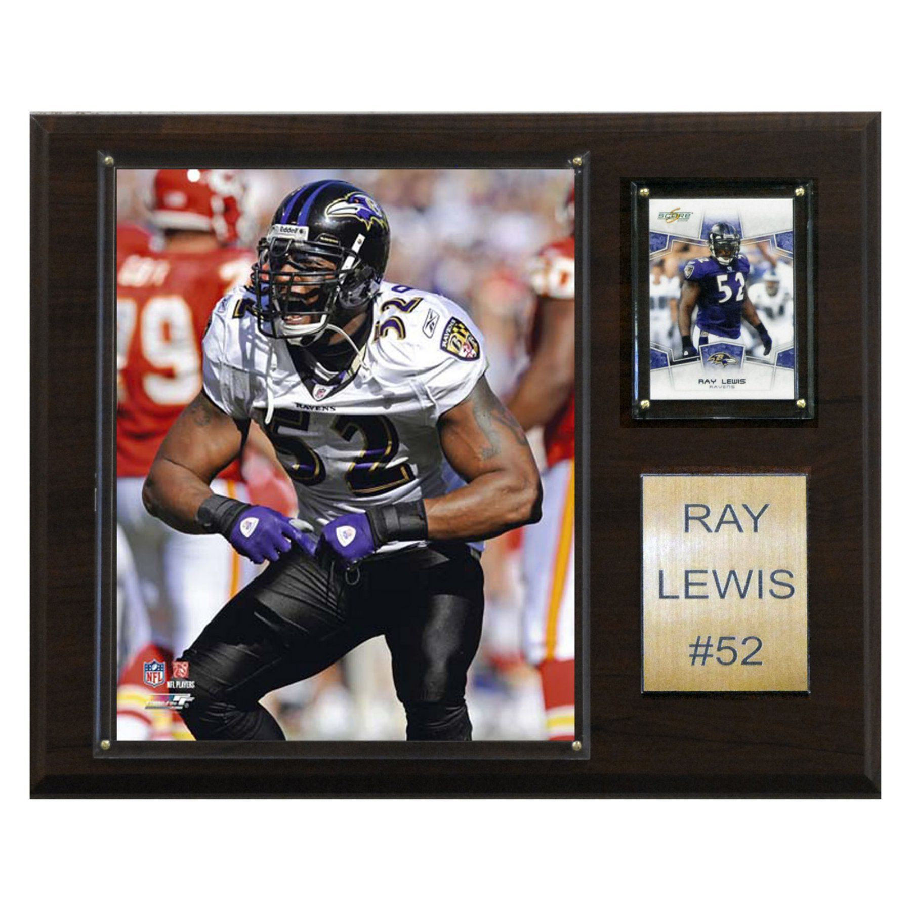 NFL 12 x 15 in. Ray Lewis Baltimore Ravens Player Plaque