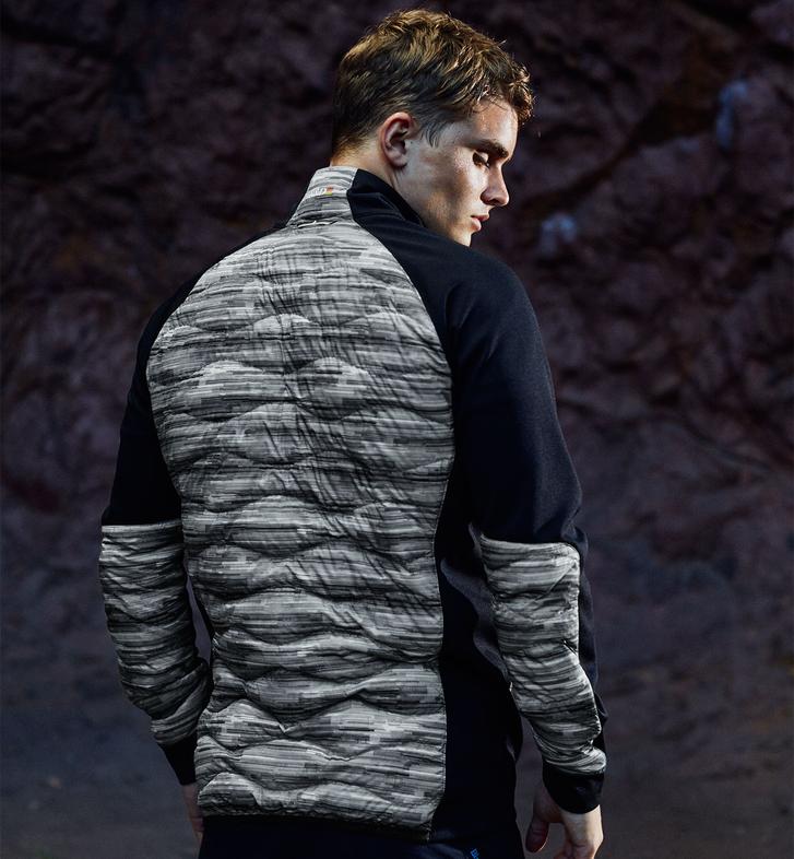 Men's Helium Hybrid Printed Jacket