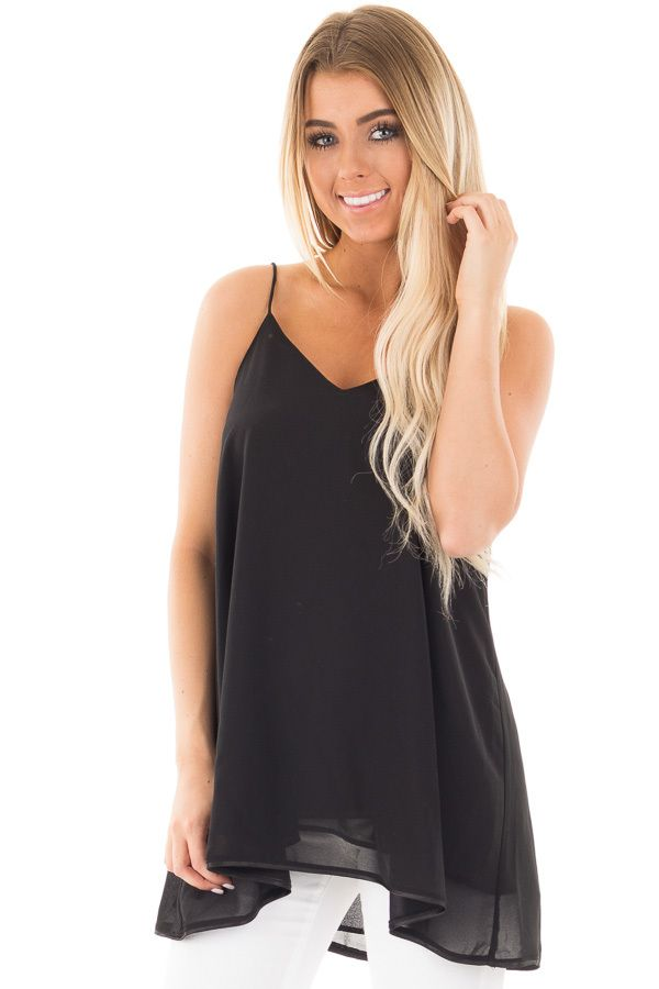 Lime Lush Boutique - Black Flowing V Neck Tank, $36.99 (https://www.limelush.com/black-flowing-v-neck-tank/)#fashion#spring#happy#photooftheday#followme#follow#cute#tagforlikes#beautiful#girl#like#selfie#picoftheday#summer#fun#smile#friends#like4like#pinterestfollowers