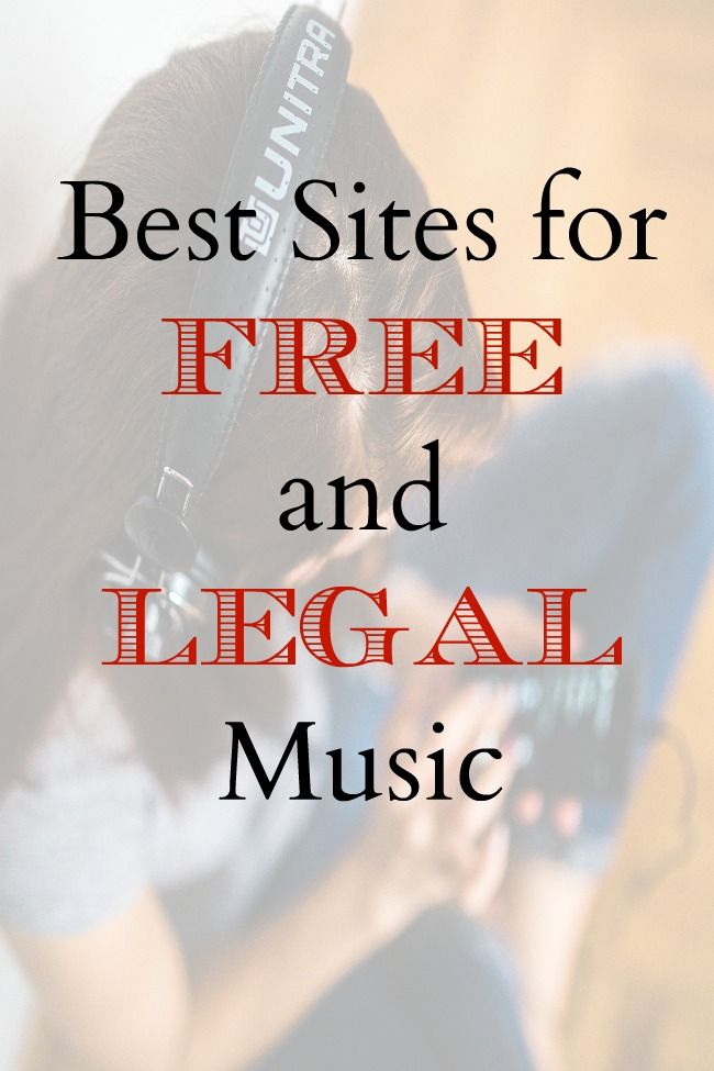 Best Sites For Free And Legal Music