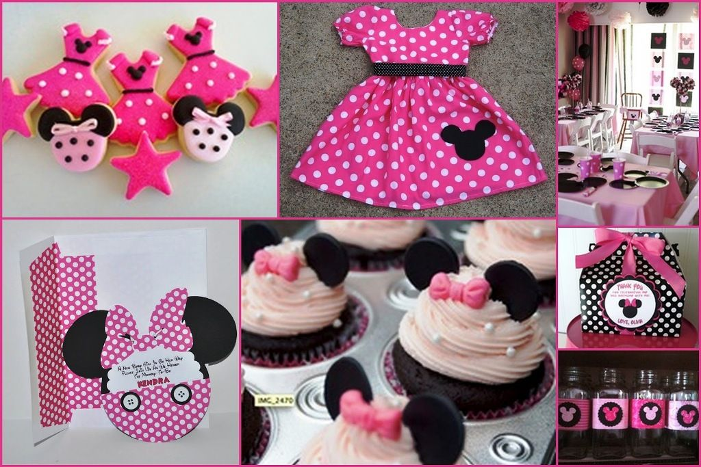 minnie mouse 1st birthday party themes Pinterest Minnie mouse