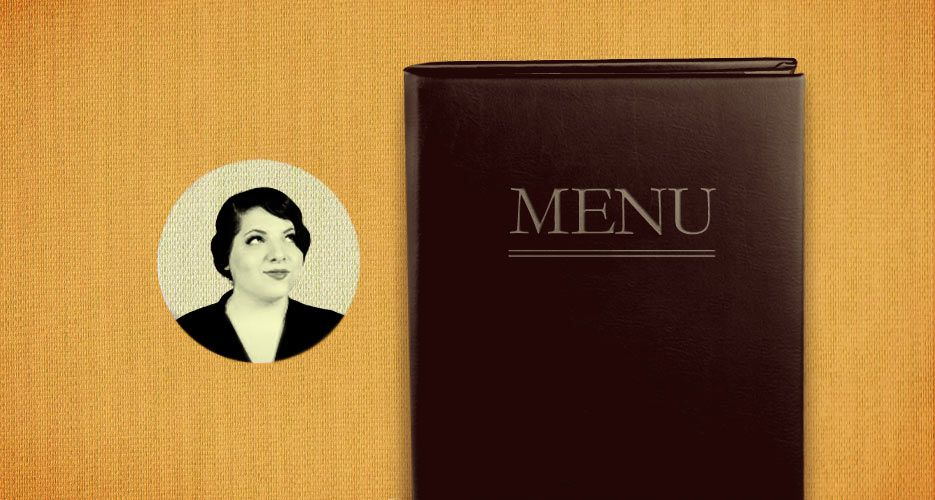 HOW TO EAT AT A RESTAURANT: ORDERING 101  Scored a table at a hot restaurant? Don't stumble at the finish line—here's how to navigate the menu like a pro.  WRITTEN BY JORDANA ROTHMAN   POSTED ON FRIDAY 10-12-2012 AT 11:01 AM