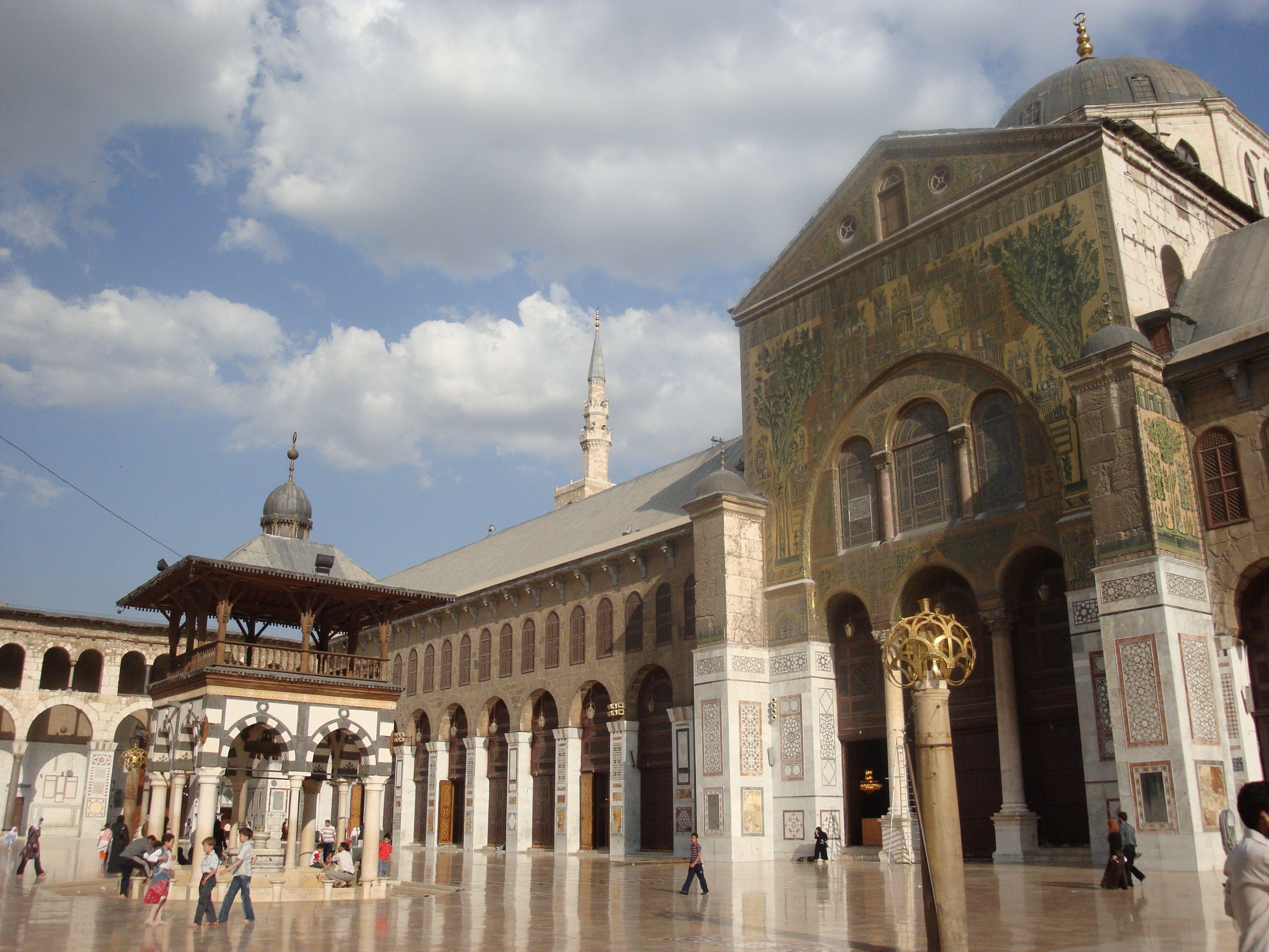 Umayyad Mosque, Damascus, Syria (Photo Credit: Michael-Ann