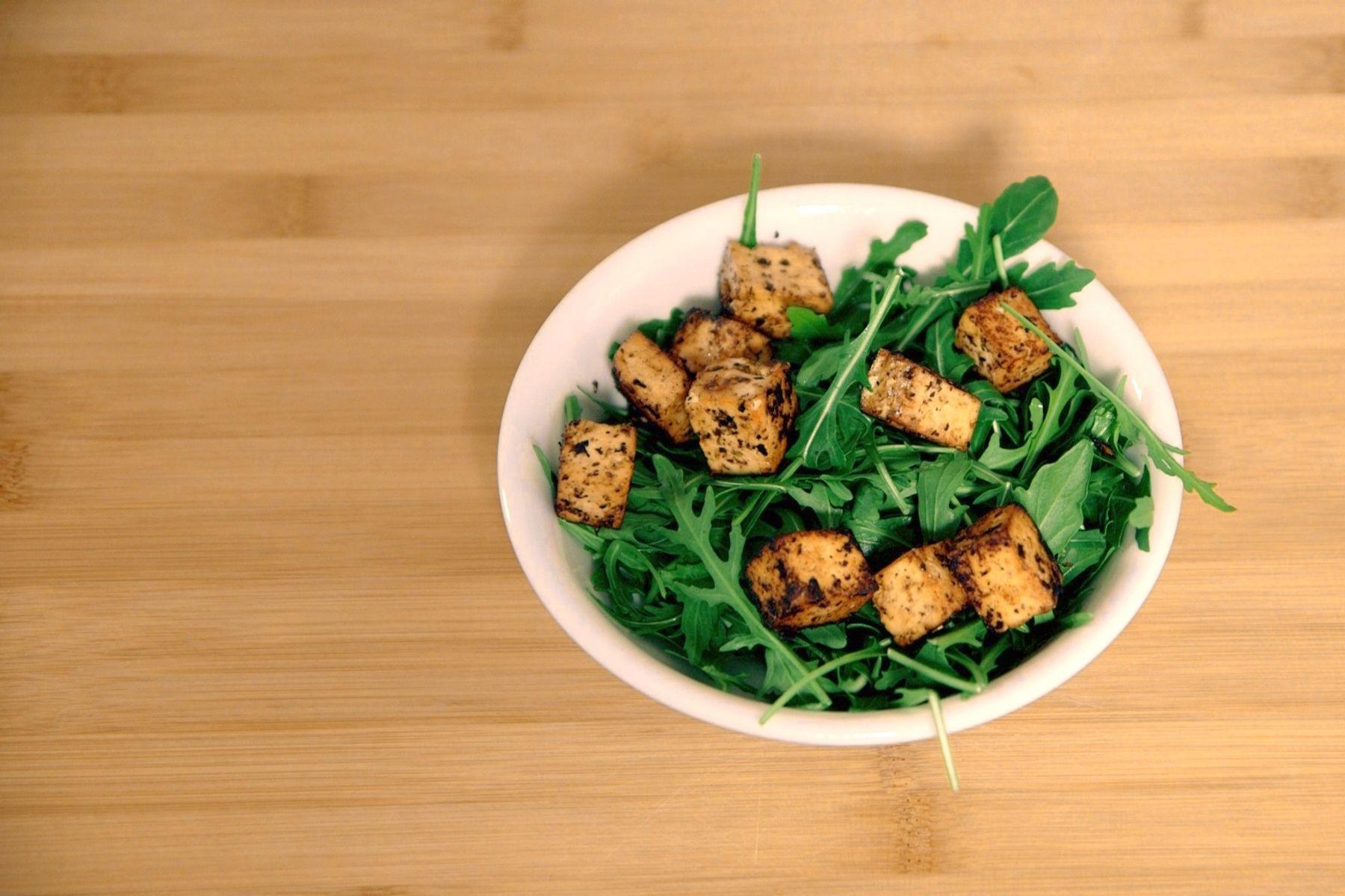 """Dies ist die beste Antwort auf den Satz: """"Tofu schmeckt mir nicht""""."""