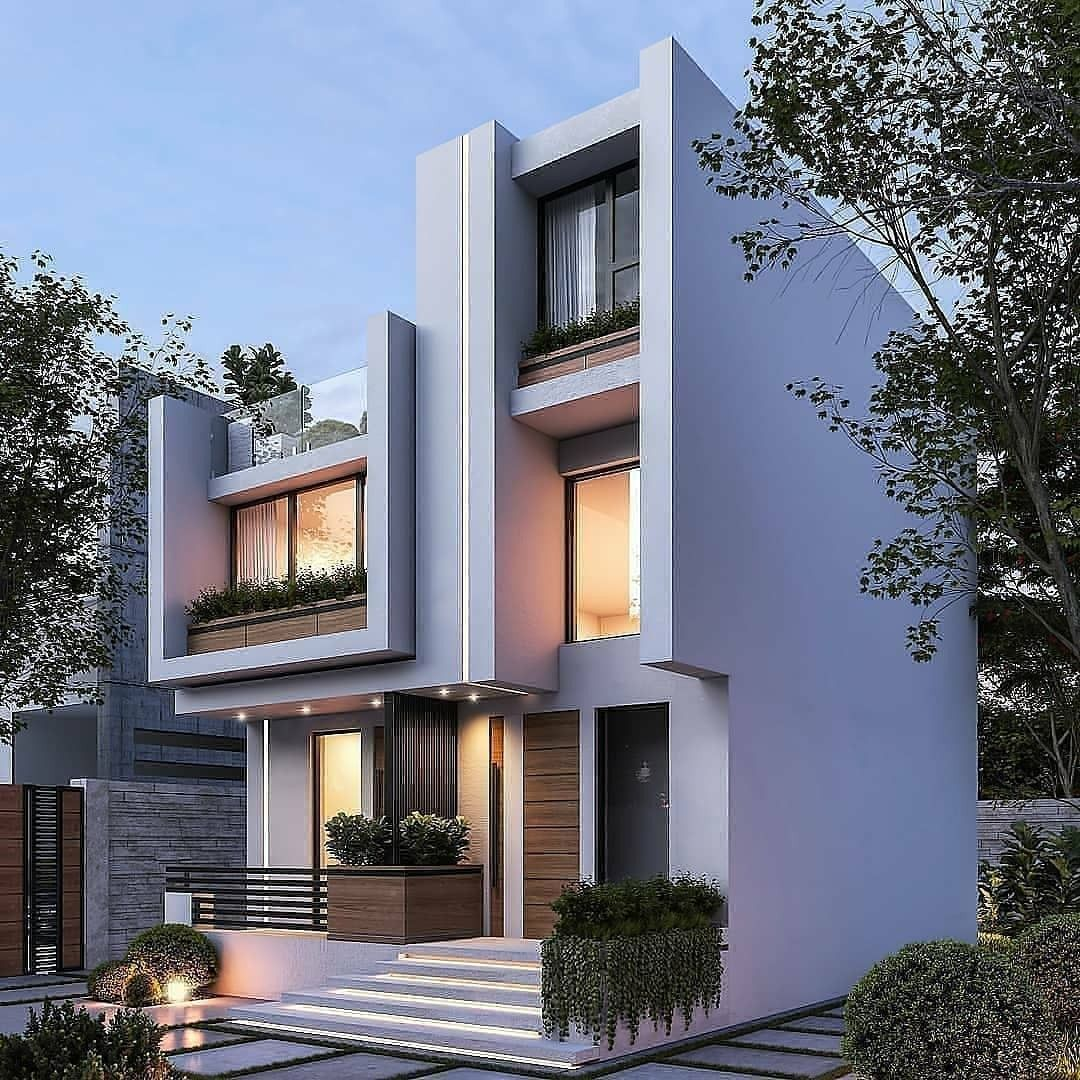Small House Elevation Design Duplex House: Top 30 Modern House Design Ideas For 2020 In 2020