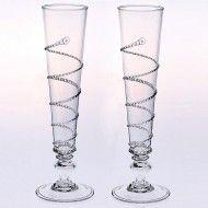 Juliska Amalia Pair of Flutes love these!!
