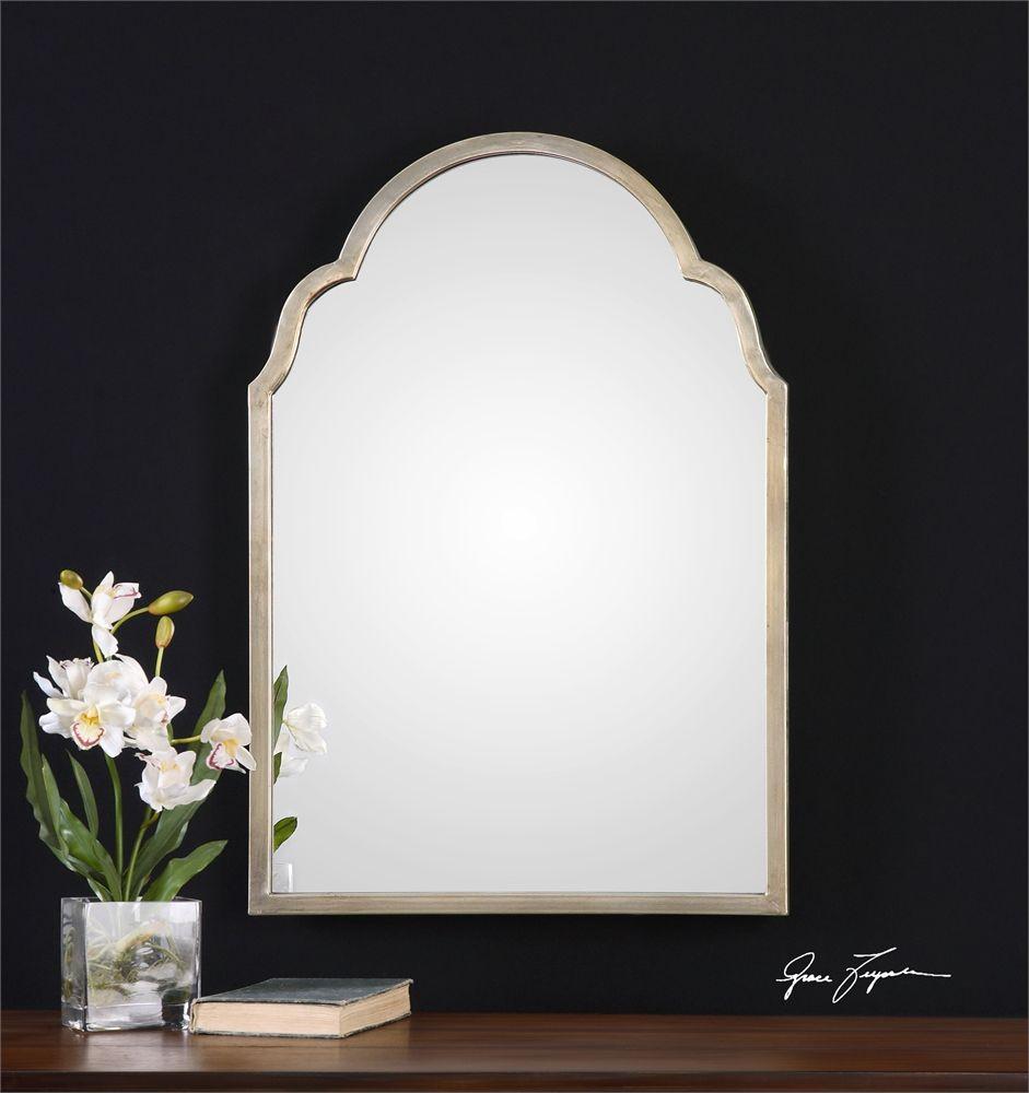 Uttermost Brayden Pee Silver Arch Mirror 20 X 30