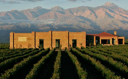 Andeluna Argentina Bodegas De Vino Lugares Maravillosos