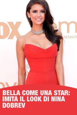 Photo of Beautiful like a star: imitates the look of Nina Dobrev, the star of …