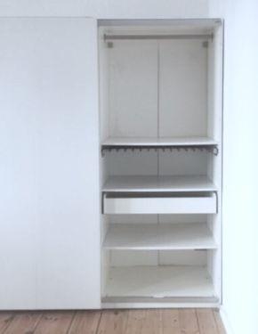 Ikea schrank weiß schiebetüren  IKEA PAX KLEIDERSCHRANK 200x236x56 WEISS SCHIEBETÜREN LIEFERUNG ...
