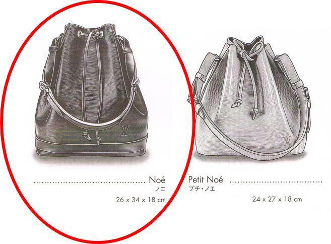 Louis-Vuitton-Epi-Noe-shoulder-bag-size-chart - Copy | Miscellaneous ...