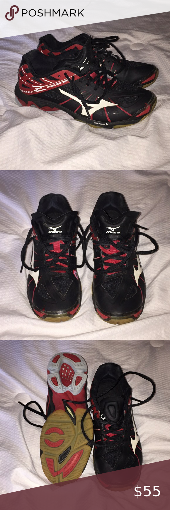 Mizuno Wave Lightning Volleyball Shoes In 2020 Volleyball Shoes Volleyball Sneakers Mizuno Shoes