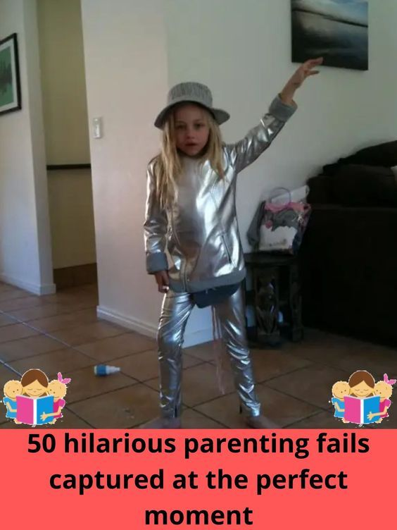 50 Hilarious Parenting Fails Captured At The Perfect