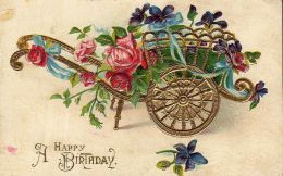 Vintage Flowers Birthday Cards ~ Free vintage birthday card designs happy birthday vintage