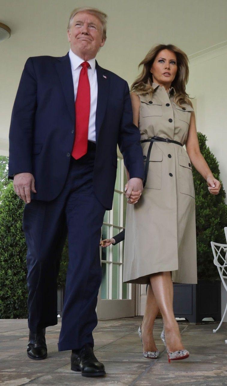 FLOTUS Melania Trump celebrates National Day of Prayer in