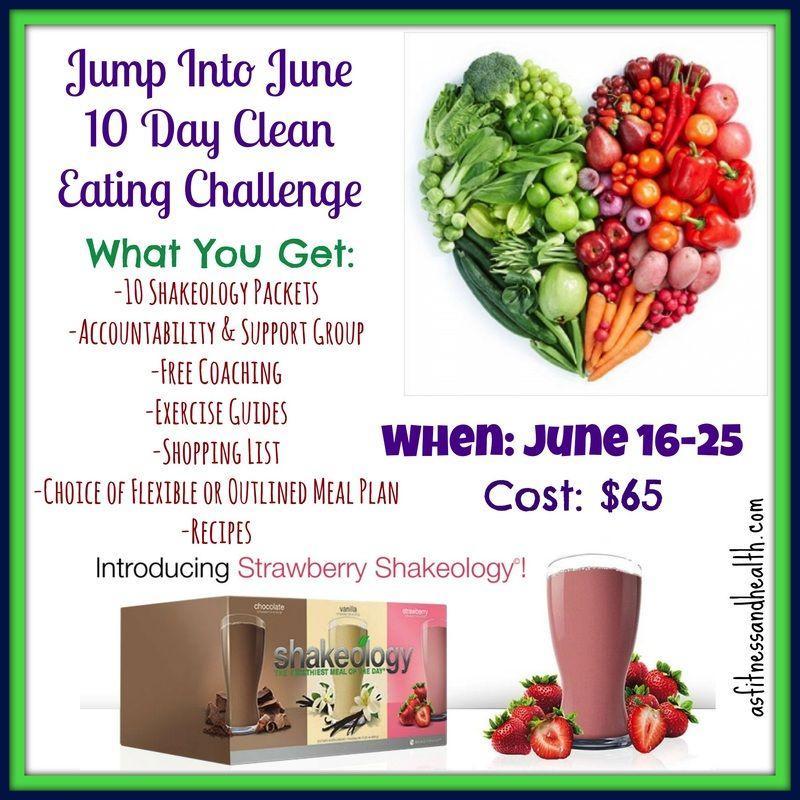 june weight loss challenge